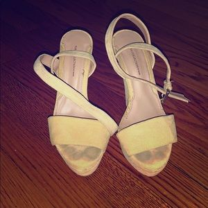 Zara open toe sandals with straps